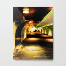 Last Stopp: Home Metal Print