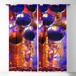 Silver Goblets, Candlelight Blackout Curtain
