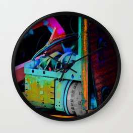 Murder Shack Electronics Wall Clock