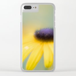 Dreamy Flower Clear iPhone Case