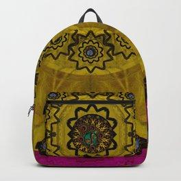 Yin and Yang Pattern Landscape Backpack