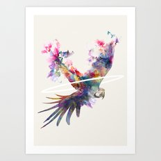 Fly Away II Art Print