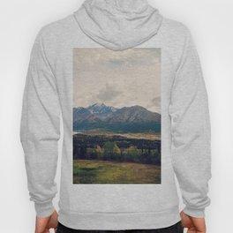 Fall Alaskan Mountain Crisp Landscape Hoody