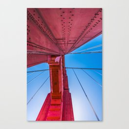 Up The Golden Gate Canvas Print