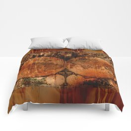 Rustic Old World Map Comforters