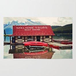 Maligne Lake Rug