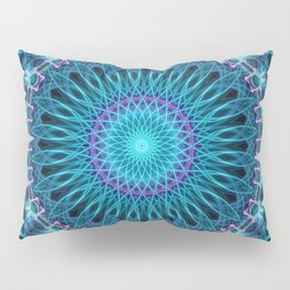 Winter cold mandala Pillow Sham
