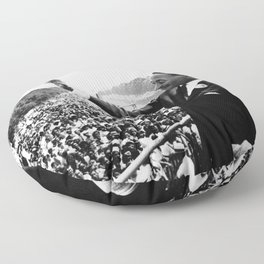 Remembering African American History and Martin Luther King Floor Pillow