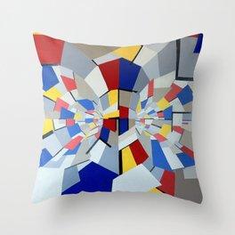 Quantum Reactor Throw Pillow