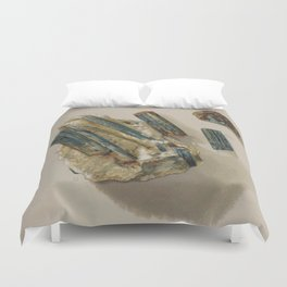 Natural Turquoise Duvet Cover