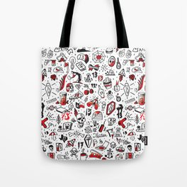 Friday the 13th Tattoo Flash Tote Bag