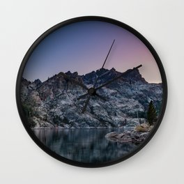 Nice Butte Wall Clock