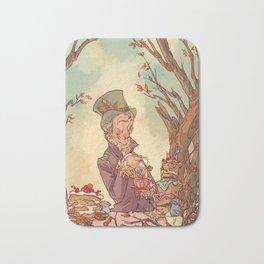 Tea Time in Wonderland Bath Mat