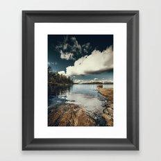 Belle Svezia Framed Art Print