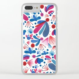 Love Heritage Clear iPhone Case