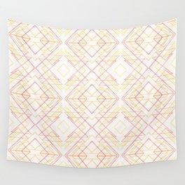 rhombic pattern Wall Tapestry