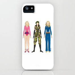 Triple Madge American Life iPhone Case