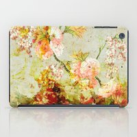 climbing iPad Cases featuring climbing flowers by clemm