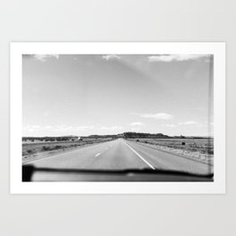 Dreaming of the Road Art Print