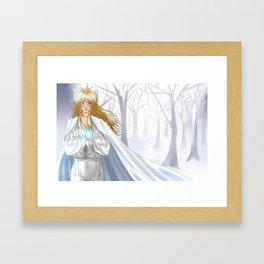 [Labyrinth] Winter Winds - Jareth Framed Art Print