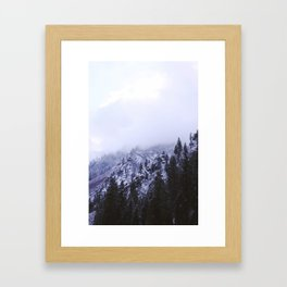 Icy Highway 2 Framed Art Print