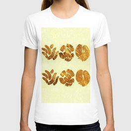 golden shapes T-shirt