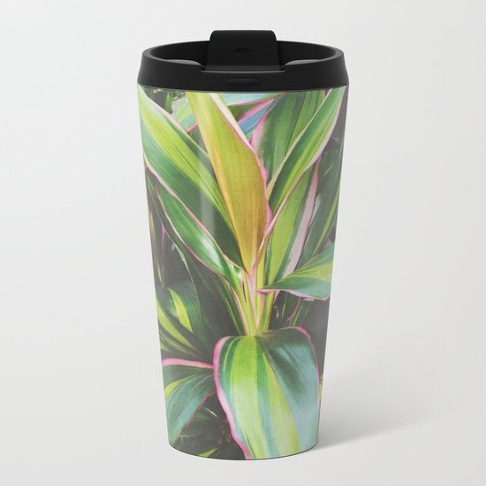 Foliage II Metal Travel Mug