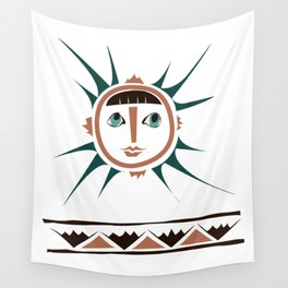 Elments-Fire/Sun Wall Tapestry