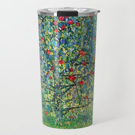 """Gustav Klimt """"Apple tree"""" Travel Mug"""