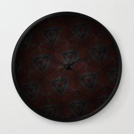 Shadow Triangles Wall Clock