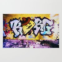 taco Area & Throw Rugs featuring Señor Taco by Litew8