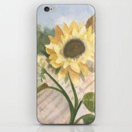 Sunflower Morning iPhone Skin