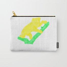 Bright Australian Native Wildlife - Yellow Koala Illustration Carry-All Pouch
