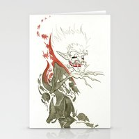 dracula Stationery Cards featuring Dracula by JoJo Seames