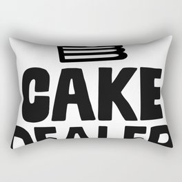 Cake Dealer Rectangular Pillow