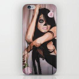 """Artwork - Dia de los Muertos """"Flowers"""" iPhone Skin"""