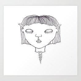 Elf #1 Art Print