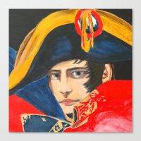 napoleon Canvas Prints featuring NAPOLEON by BonOrand