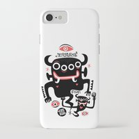 asian iPhone & iPod Cases featuring Asian Demons by Ceskus