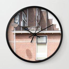 A World Of Bricks Wall Clock