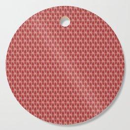 Menstrual cups - Pink Cutting Board