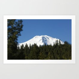 Mt Shasta California Art Print