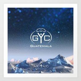 GYC - Xela Art Print