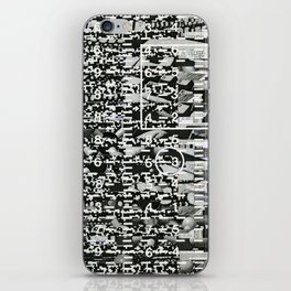 Variance Police (P/D3 Glitch Collage Studies) iPhone Skin