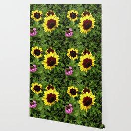 Flowers In Mid-Summer Wallpaper