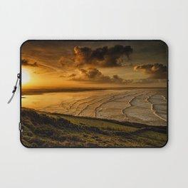 Surfer Sunrise Laptop Sleeve