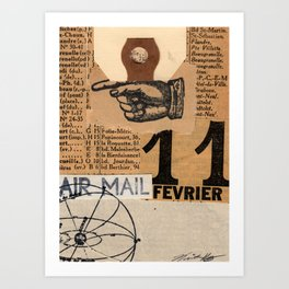 Air Mail Art Print
