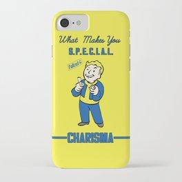 Charisma S.P.E.C.I.A.L. Fallout 4 iPhone Case