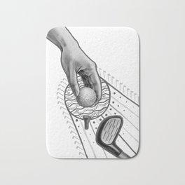 Golf swing Bath Mat