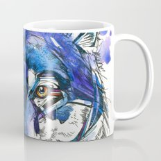 Indigo Wolf Mug